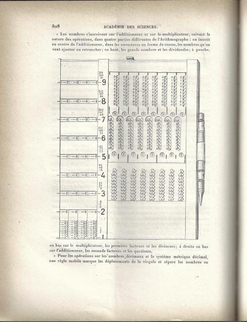 Calculator Troncet 1903