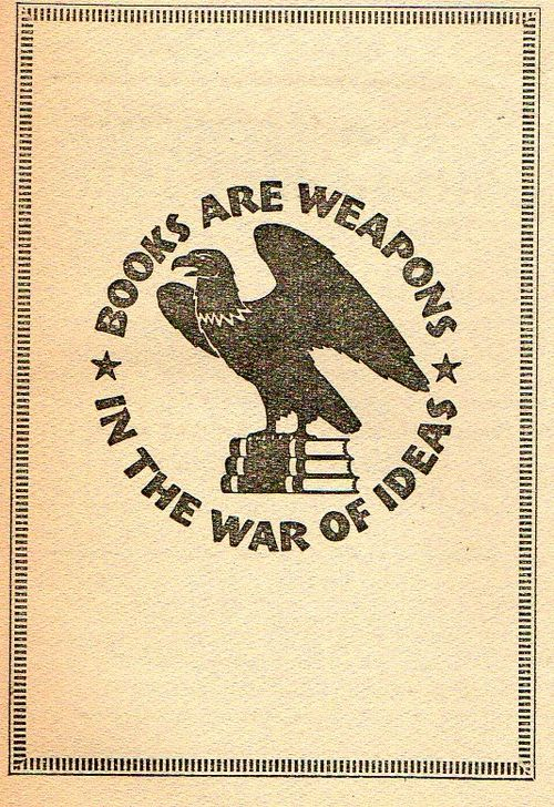 Books are weapons309