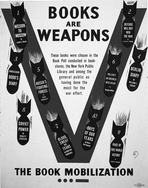 Books are weapons 3