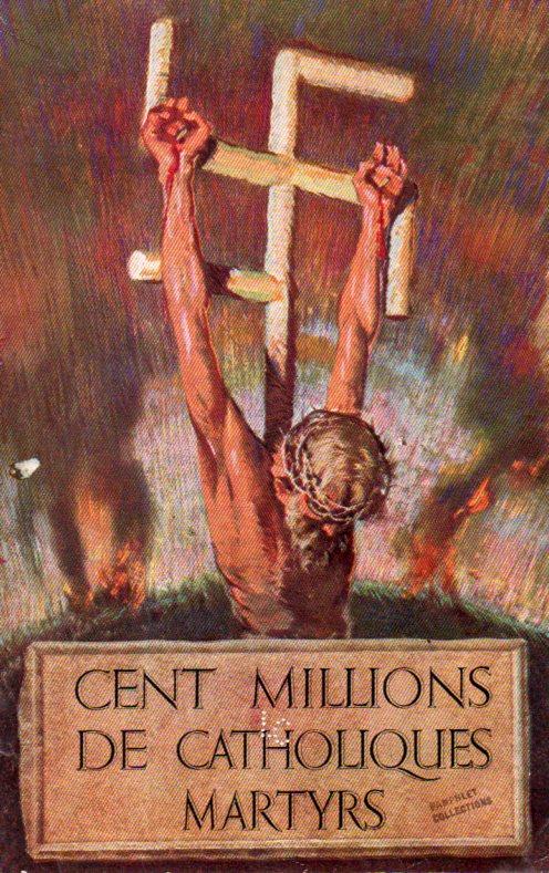 Poster--100 million catholics dead449