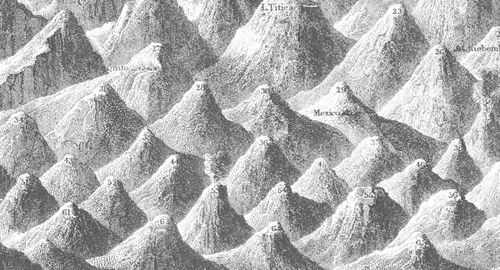 Mountain comparative detail mtns