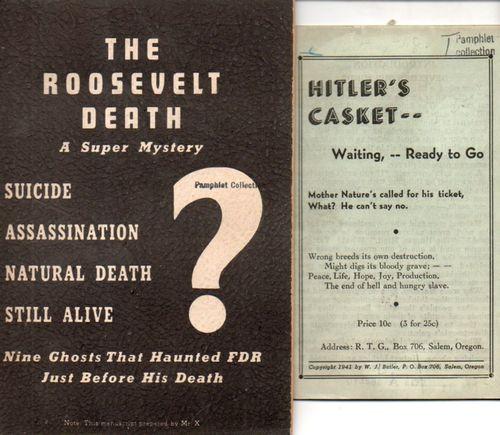 Roosevelt Death723
