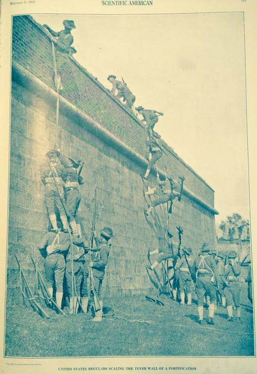 WWI Army 1915 fortress