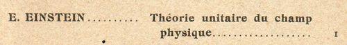 Einstein, E777