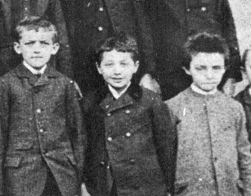 Scientist childhood pics einstein