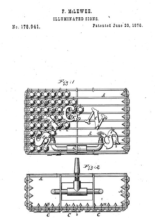 Dada found patent f flag