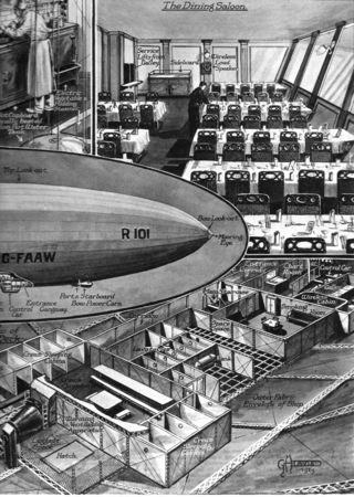 R 101 airship900