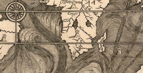Map ocean Happel 1675 c