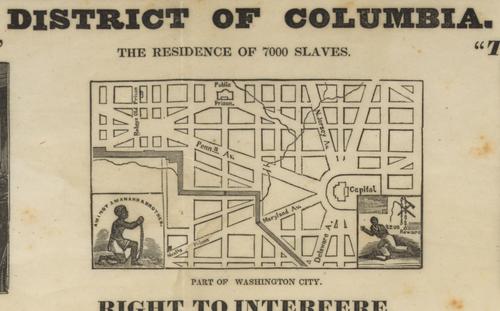 Slavery DC map