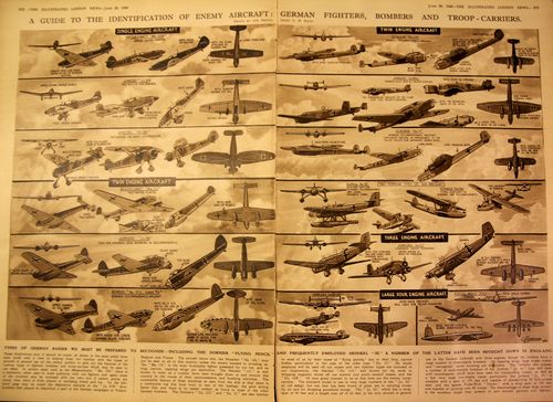 Graphic Display ID German Fighters