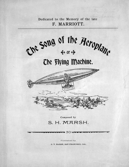 Aeroplane song of teh 1897