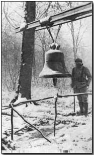WWI Project bell from Vaux church