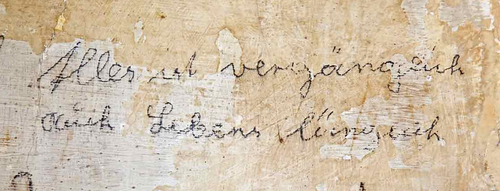 El-De House inscription