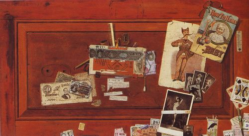 Found poetry Haberle bachelor drawer