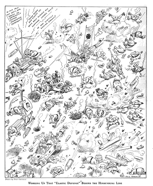 WWI cartoon 1918 Gruelle