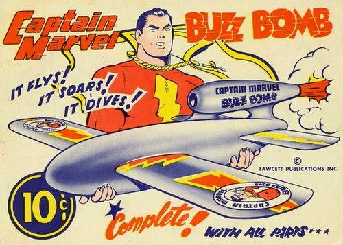 Buzz Bomb Capt marvel cover