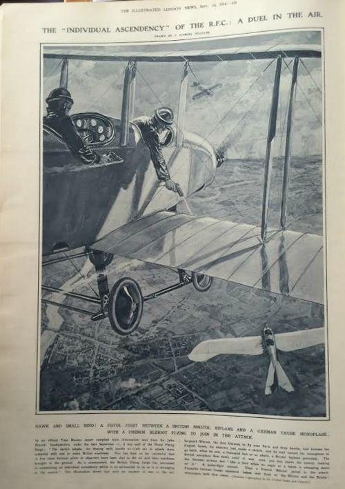 Air combat 1914