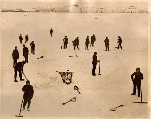 WWI  Skating Brits087