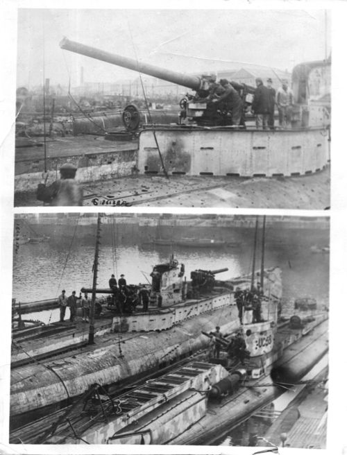 WWI Surrendered U Boats France092