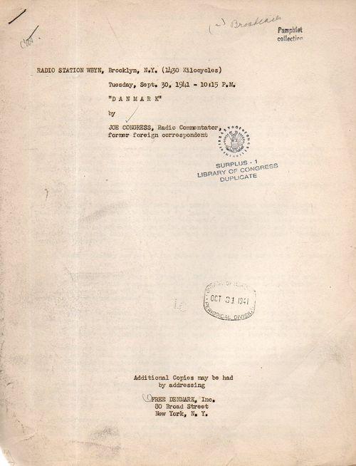 Denmark 1941 164