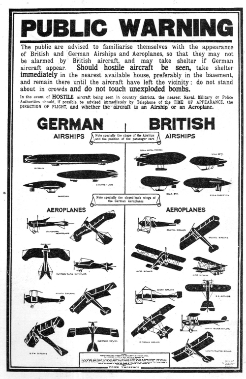 Wwi poster public warning457