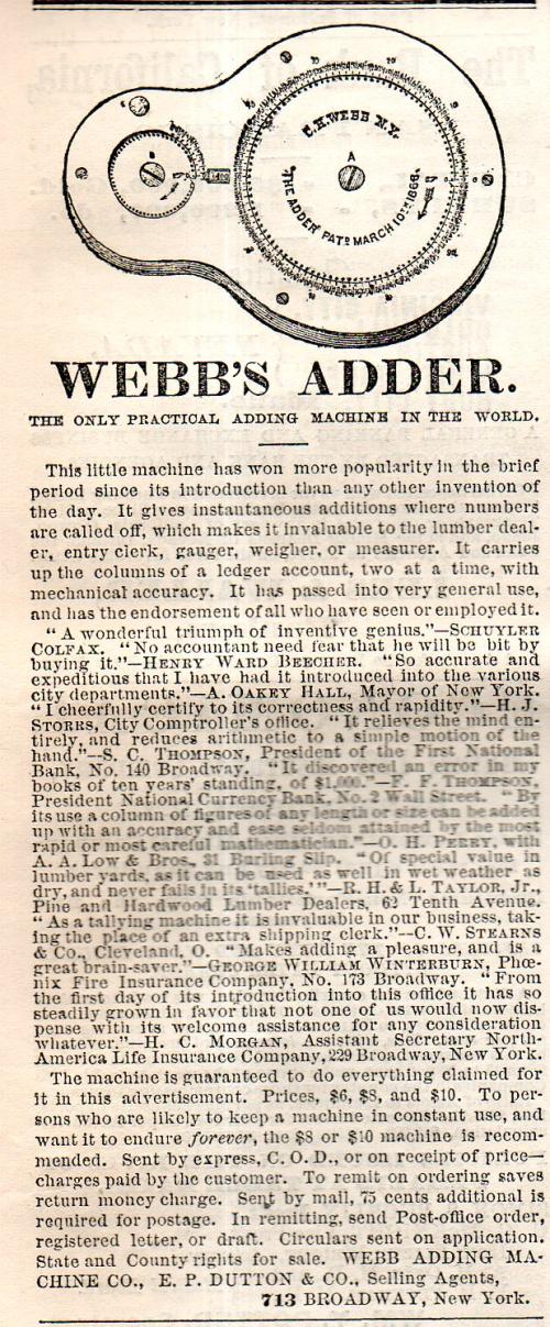 Webb adder 1869465