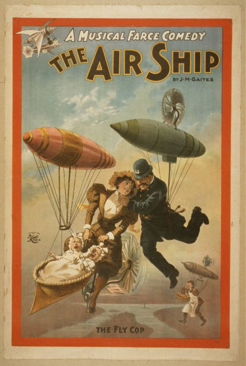 Airships over NYC