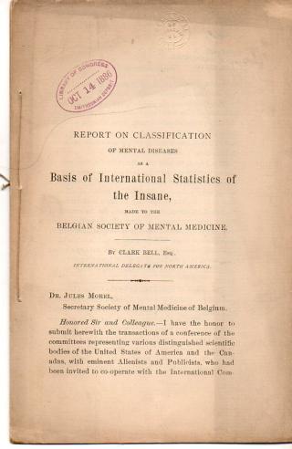 Statistics of the insane _1_503
