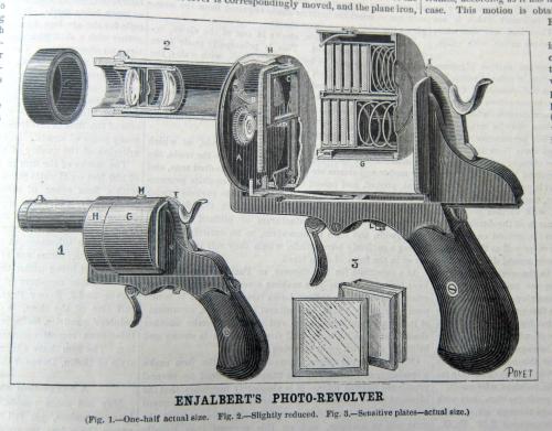 Inventions revolver camera