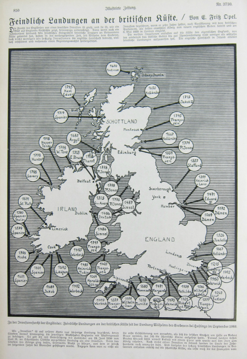 Map Invasions England