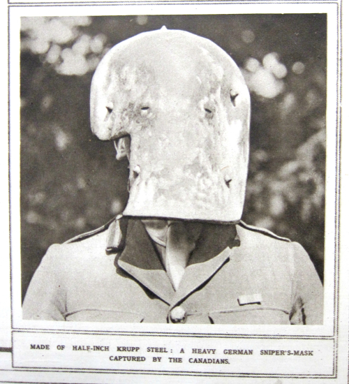 WWI pROJECT sniper mask