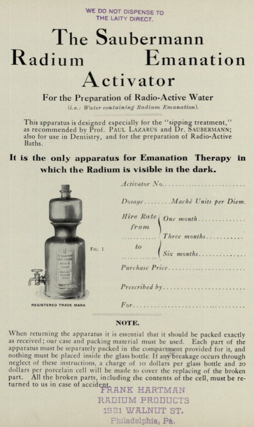 Radium Emanation