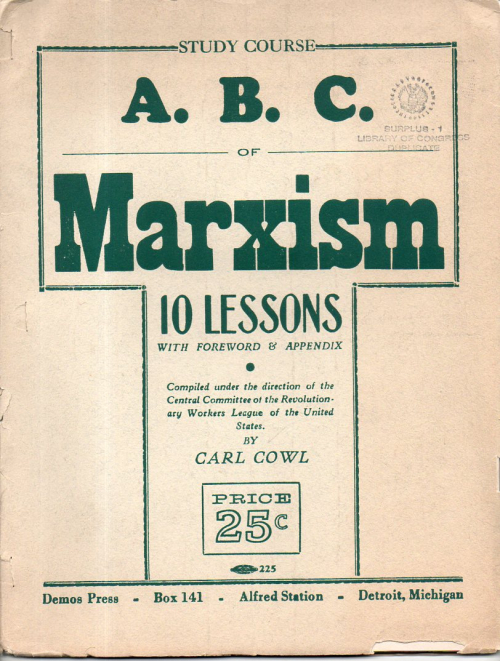 ABC of MArxism583