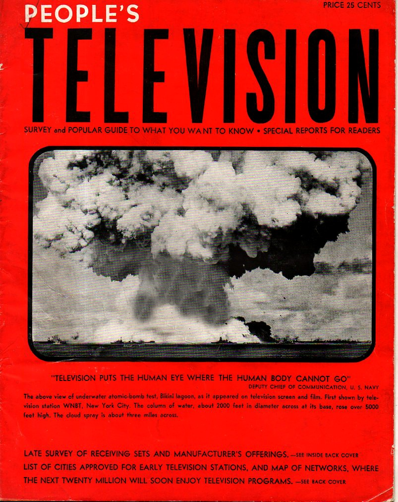 JF Ptak Science Books: A Map of Television to Come, with a