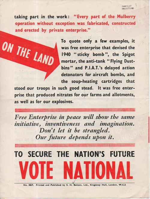 British political pamphlets fido707