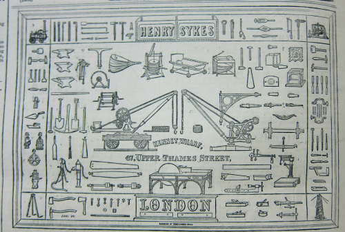 Engineering 1869 Hardware hieroglyphics