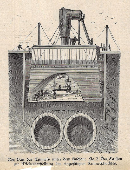 Cross section tunnel Hudson 1881 _2_