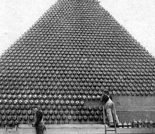 WWI Project Hun Helmet 1919 detail