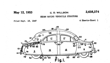 Patent Atomic bomb car `953