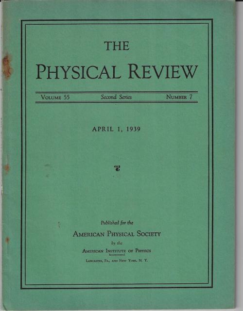 PR 1939 Apr 1 Gamow