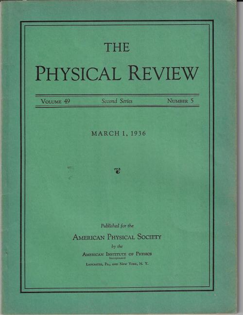 PR 1936 March 1 Einstein