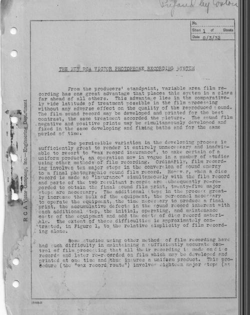 RCA Photophone Recording Sysytem 1932 _1__0001