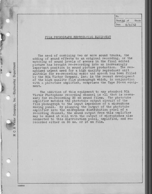 RCA Photophone Recording Sysytem 1932 _4__0008