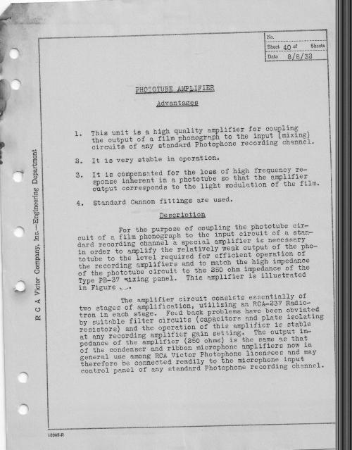 RCA Photophone Recording Sysytem 1932 _5__0003