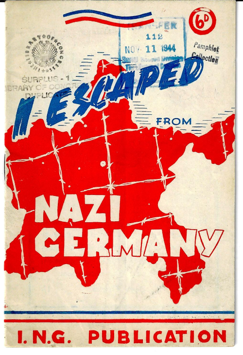 I escaped Nazi Germany