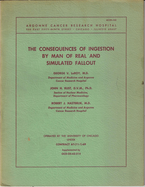 Atomic consequences ingestion