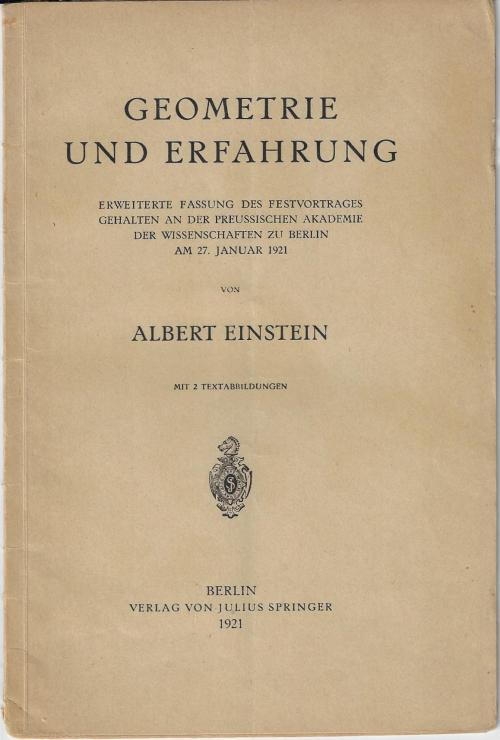 Einstein Geometrie