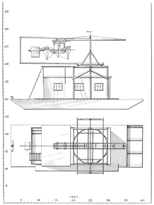 Langley hosueboat