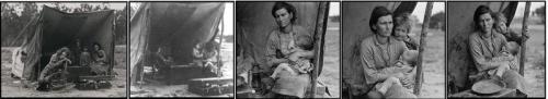 Lange Migrant Mother series