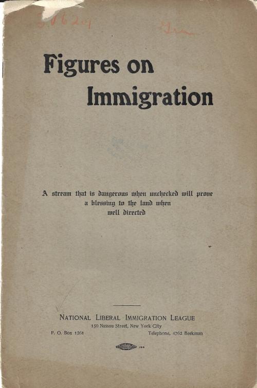 Immigration League 1902